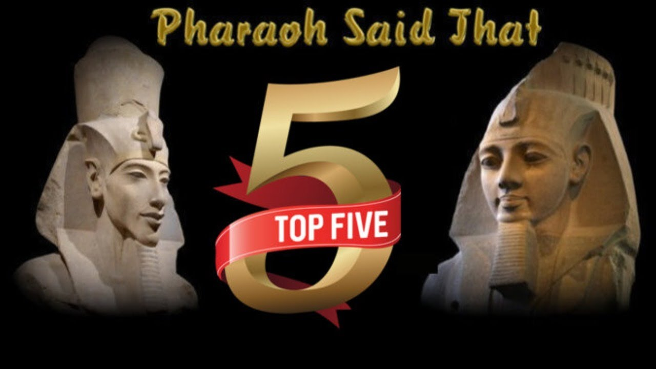 Pharaoh's Top 5 Of 2019