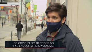 Do COVID-19 restrictions go far enough where you live? | Outburst