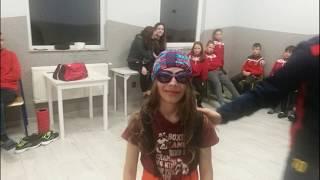 Chrzest na Zawodnika Iskry Kochlice - Pasowanie na Piłkarza - Ostatni Dzień Obozu