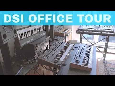 DAVE SMITH OFFICE TOUR => MULTITRAK entre 0:50 et 1:00
