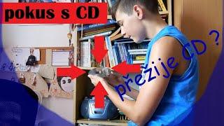 Jak rozbít CD (pokus)