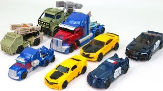 Transformers 5 2017 THE LAST KNIGHT Optimes Prime Bumblebee Barricade Hound Car Robot Toys