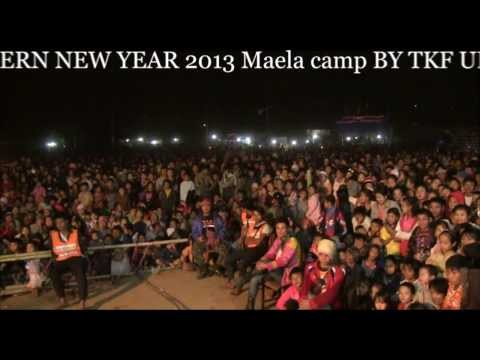Karen New Year  2013 in maela camp { As You Desire }  By. TKF UFO