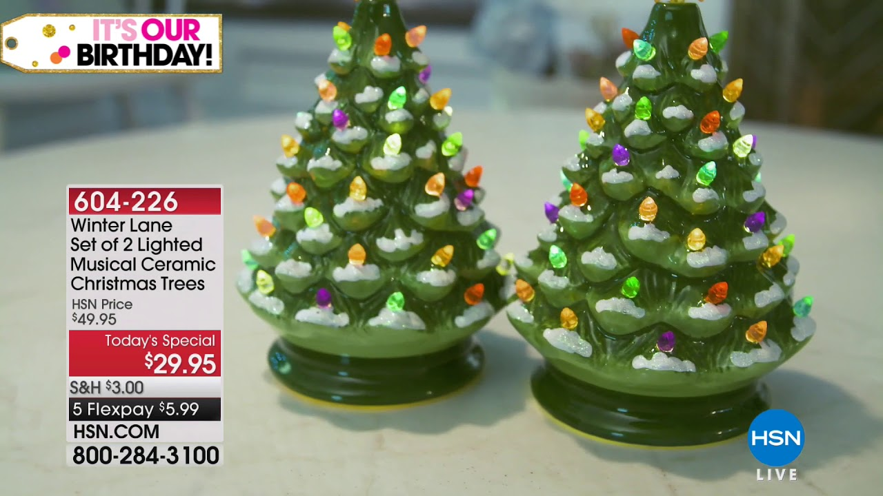 Hsn Christmas In July Holiday Decor 07 18 2018 09 Pm Youtube