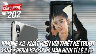 iPhone X2 Xuất hiện với thiết kế thân trượt độc đáo | Tin Công Nghệ Hot Số 202