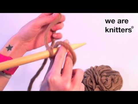 Aprende a tejer: ¿Cómo montar los puntos en lana?