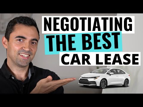 Leasing a Car Like a Pro And Negotiating The Lowest Lease Payments