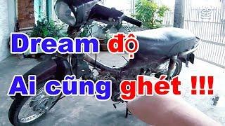 Chạy thử chiếc XE DREAM ĐỘ bị ghét nhất SÀI GÒN #xedo #saigon #drea...