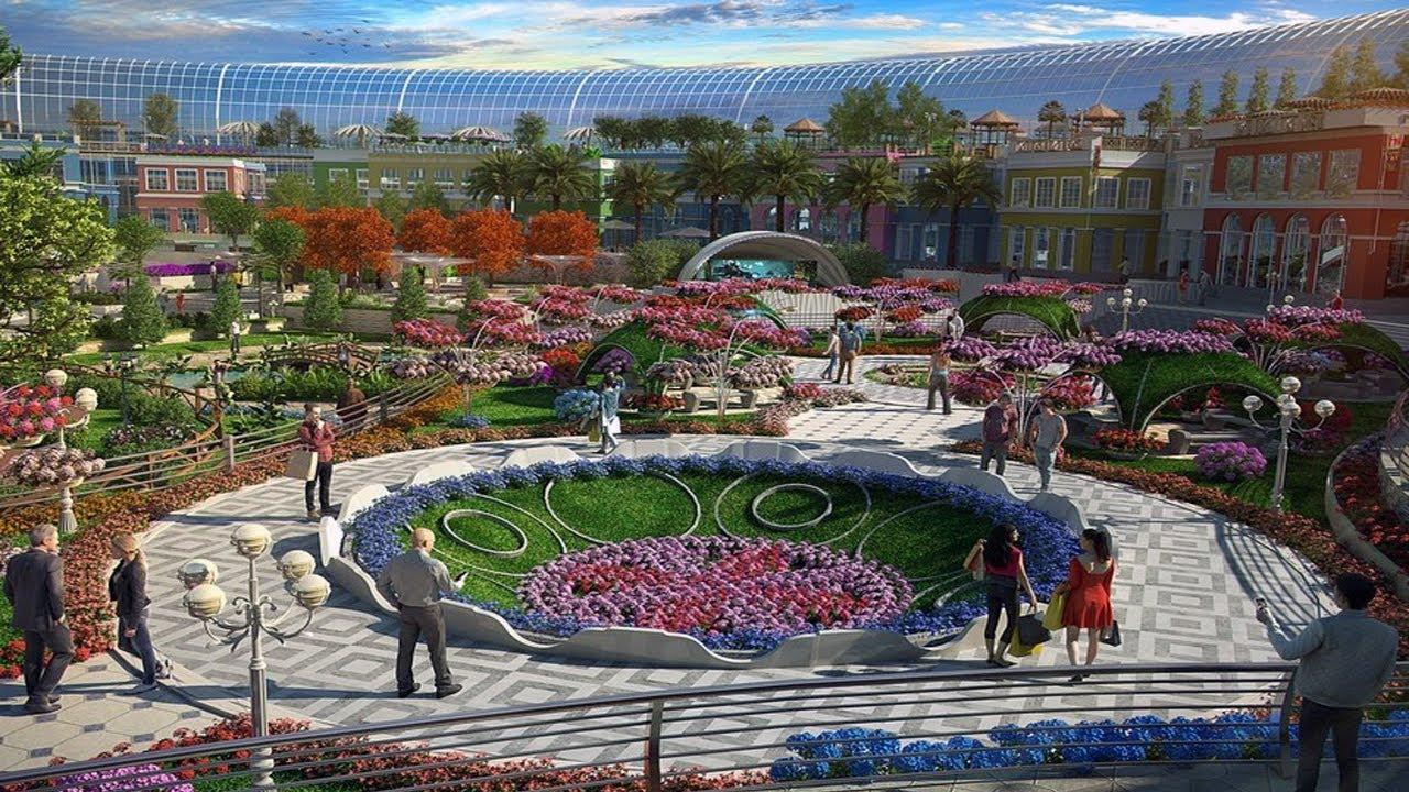 dubai miracle garden location youtube