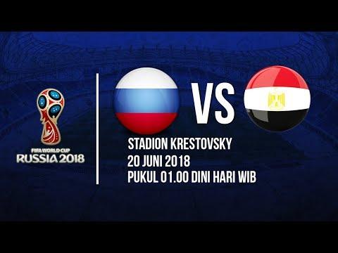 Jadwal Siaran Langsung Laga Timnas Rusia Vs Mesir Di Piala Dunia 2018
