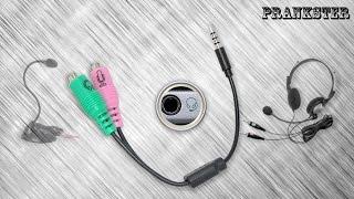 видео В ноутбуке ОДНО гнездо для микрофона и наушников (гарнитурный разъем)