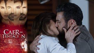 Conversa en vivo con Raquel y Santiago | Caer en tentación | Televisa
