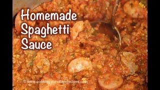 Spaghetti Sauce Recipe From Fresh Tomatoes   Homemade Pasta Sauce   Rockin Robin Cooks