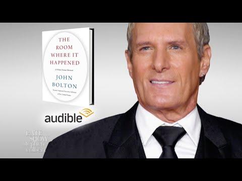 Michael Bolton Sings John Bolton's Book!