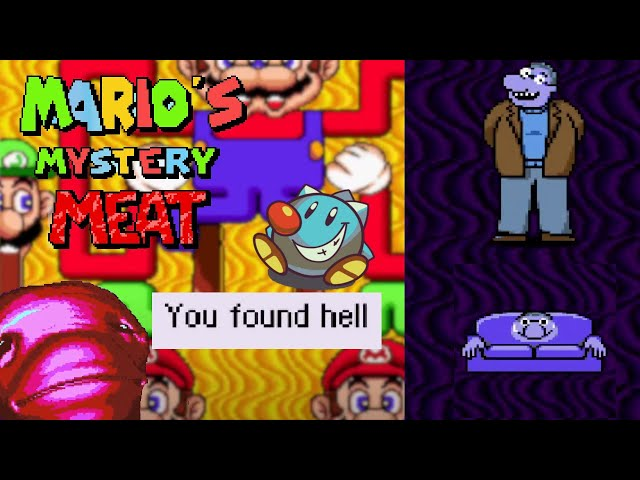 🔴Let's Play Mario's Mystery Meat   SMW Vinesauce Meme ROM Hack for Mar10 Day