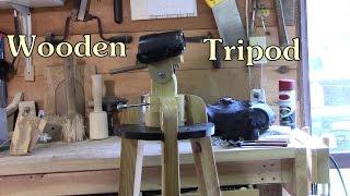 Wooden Tripod Build