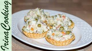 "Рыбный салат Оливье | Fish Salad ""Olivier"""