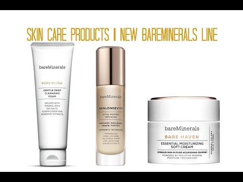 Skincare Products   New Bareminerals Line