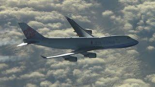 Contrails - 747