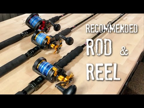 Recommended Fishing RODS & REELS - Socal Arsenal