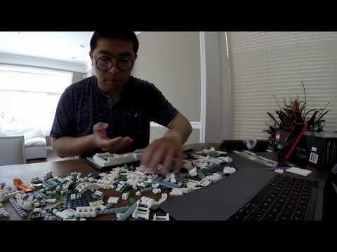 United States Capitol Building Lego build time lapse