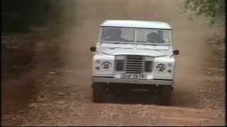 1970s Land Rover | British Leyland | Off road cars | 1 million Land Rovers | Drive in | 1976