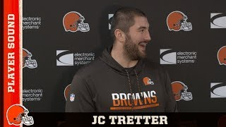 "JC Tretter on Baker Mayfield: ""Playing Every Snap Was My Goal"" 
