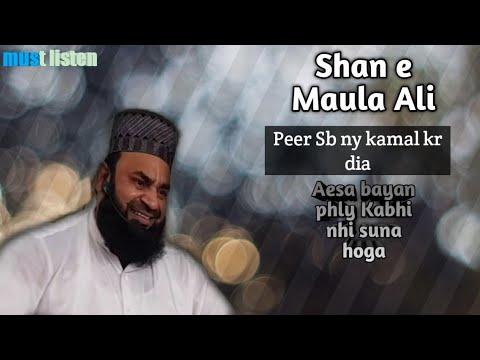 Shan E Ali Sahibzada Peer Syed Abrar Ul Hassan Zaidi Shah Sb