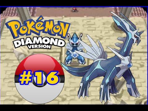 how to catch dialga in pokemon diamond