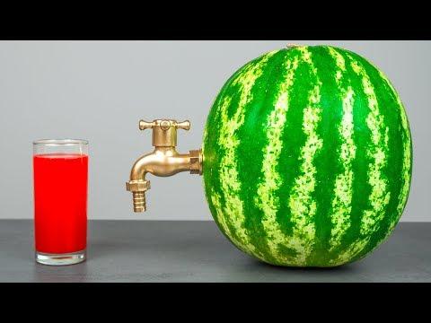 수박으로 6 놀라운 아이디어