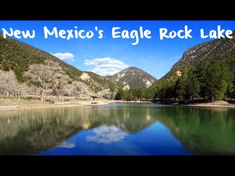 Trout Fishing New Mexico's Eagle Rock Lake
