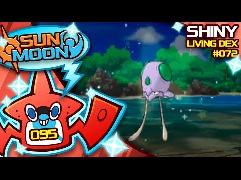 HOW COOL IS THAT? SHINY TENTACOOL! Quest For Shiny Living Dex #072 | Sun Moon Shiny #95