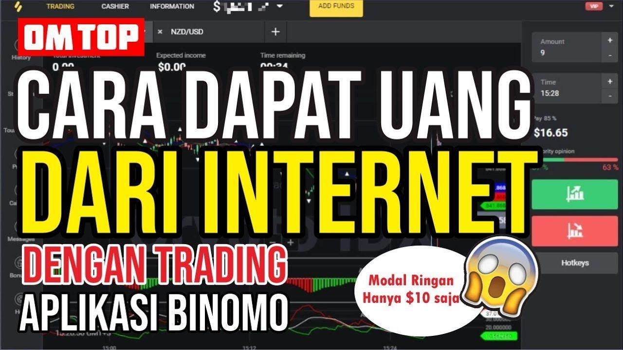 Cara Menghasilkan Uang Online $15 per hari dari Olymp Trade (Untuk Pemula)