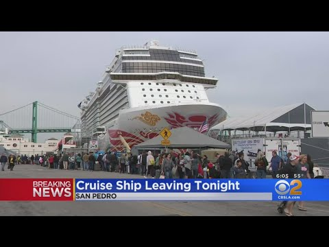 Norwegian Cruise Ship Leaving Tonight