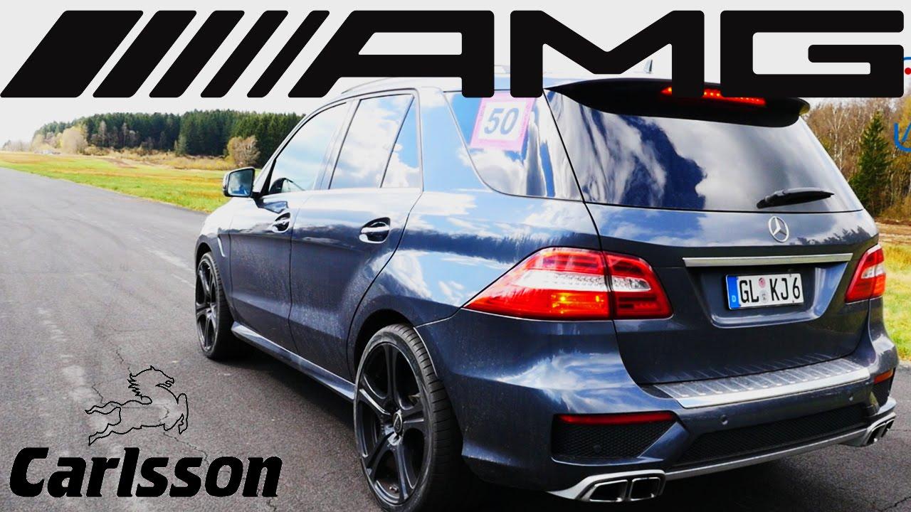 Mercedes Benz Ml 63 Amg 700 Hp Carlsson Acceleration Sound Drag