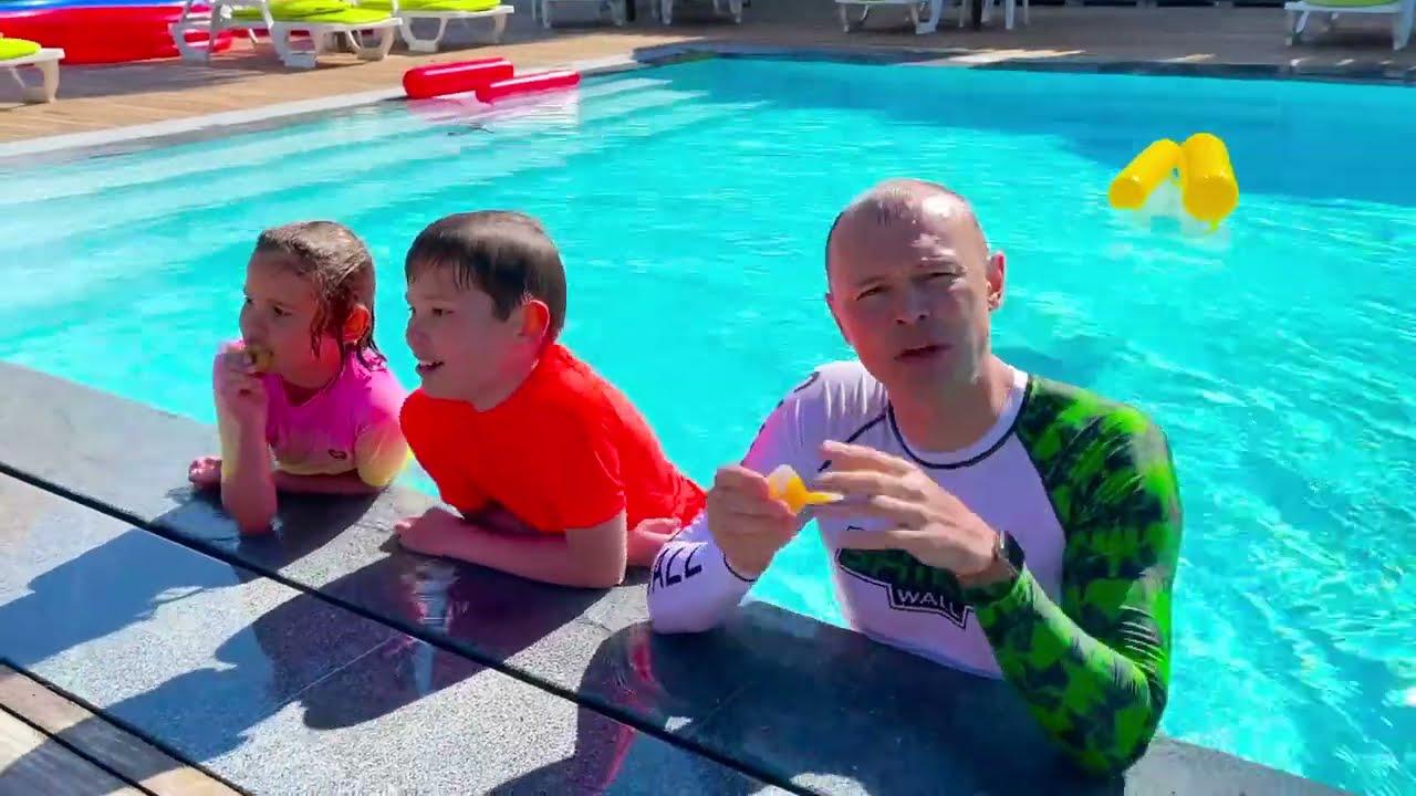 Кто последний покинет бассейн получит 1000$