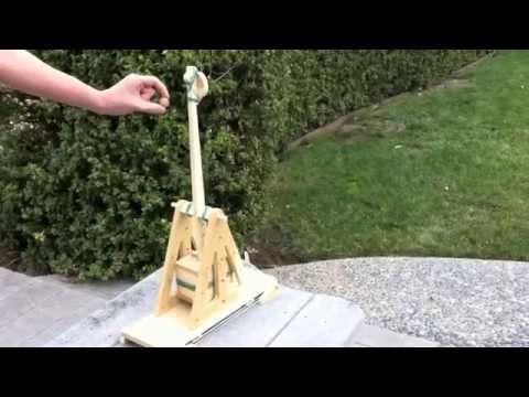 Bombs Away! A Ping Pong Catapult