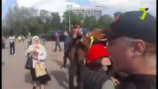 На Куликово поле пришли активисты с красными шарами