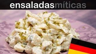 KARTOFFELSALAT (ENSALADA ALEMANA DE PATATAS) | Las ensaladas más famosas del mundo