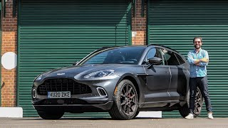 NEW Aston Martin DBX First Drive Review - World's Best SUV?