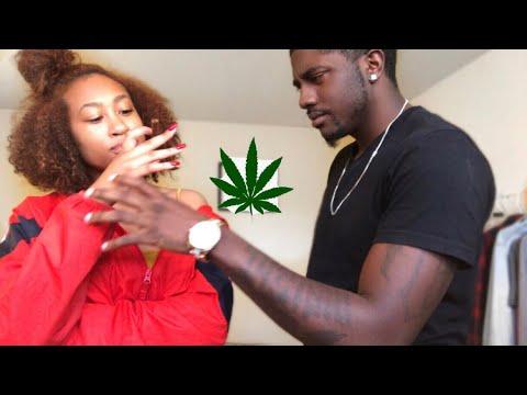 SMOKING WEED PRANK ON BOYFRIEND!!!   NOEY&XANDEN - YouTube