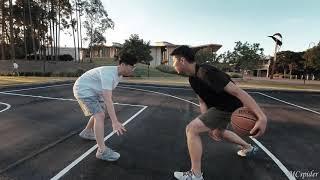 澳洲小吴打篮球 A beatiful day for basketball (mini vlog)