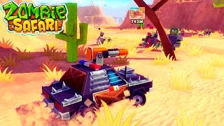 Полицейская машина ПРОТИВ ЗОМБИ zombie safari #4 ВИДЕО ДЛЯ ДЕТЕЙ про машинки VIDEOS FOR KIDS games