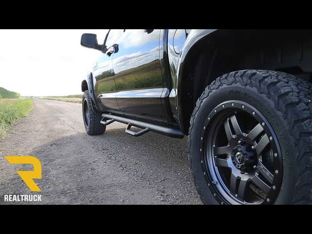 N-Fab Hooped Nerf Bars - Fast Facts