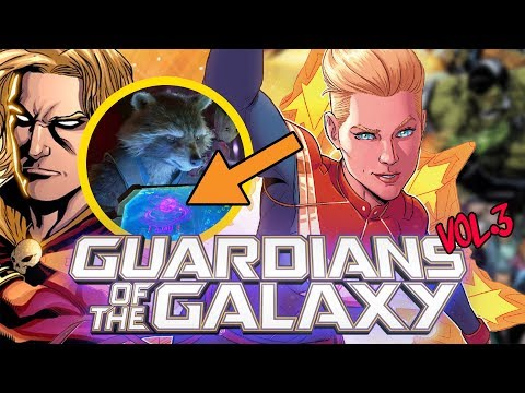 Why Captain Marvel and Adam Warlock are NOT in Avengers Infinity War