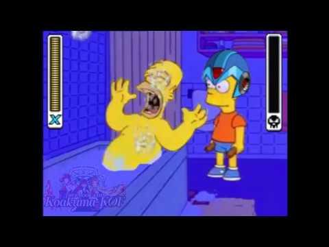 Mega Bart X (Simpsons version Megaman)