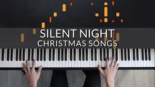 Silent Night - Christmas Songs   Tutorial of my Piano Cover + Sheet Music