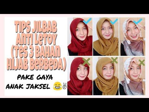 Tips Hijab Segi Empat Anti Letoy