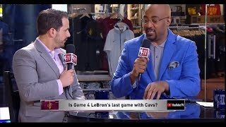 Is Game 4 LeBron's Last Game With Cavs? | Warriors vs Cavaliers NBA Finals | June 7, 2018