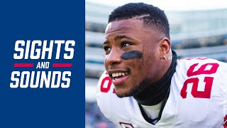 Best Sights & Sounds and Daniel Jones' Touchdowns | Giants vs. Bears